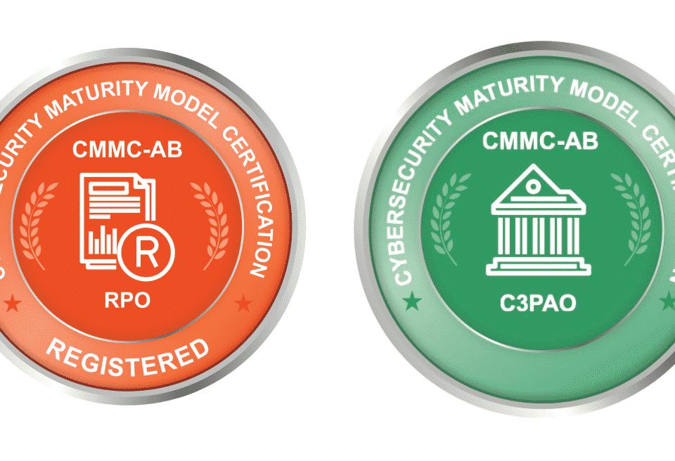 CMMC C3PAO and RPO bacges