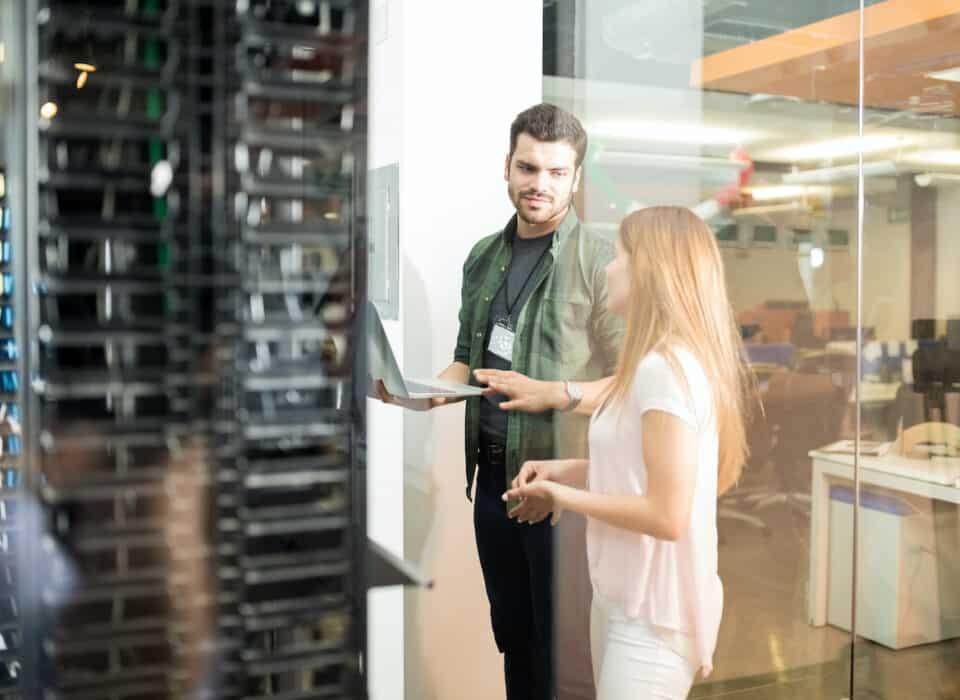 implementing NIST 800-171 in server room